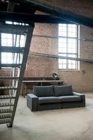 kivik sofa cover kivik 3 seat sofa cover loose fit urban in rosendal pure washed