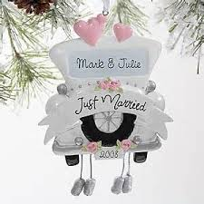 wedding ornaments happy holidays