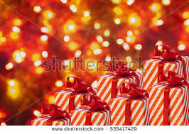 New Years Decorations Sale by Christmas Candy Canes On Red Sparkly Stock Illustration 88434559