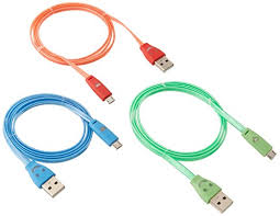 generic led light up micro usb cable for android