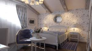 3d design bedroom in the style of provence