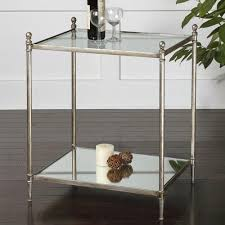 Uttermost Table Gannon Silver End Table