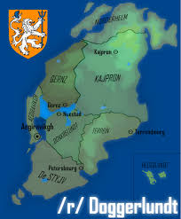 North Sea Map Map Of Doggerland An Island Nation In The North Sea Imaginarymaps