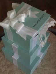 card holder tiffany u0026 co inspired 3 tier box by lovinglymine