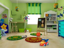 kids room great green wall interior ikea kids room round rug