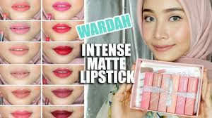 Wardah Lip Di Pasaran gaya vintage shade burgundy produk lipstik wardah