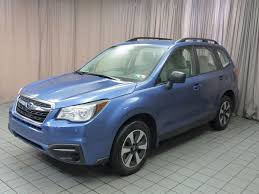subaru green 2017 2017 used subaru forester 2 5i cvt at north coast auto mall