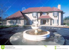 french chateau style home royalty free stock photos image 23178558