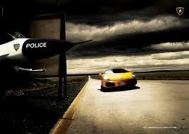 lamborghini aventador ad pursuit plane admirror mysterious coincidence in ads