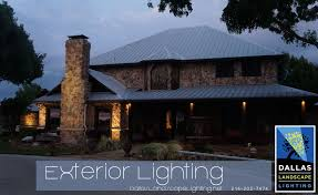 Outside Landscape Lighting - plano outdoor lighting dallas landscape lighting