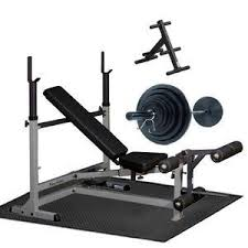 Weights And Bench Set Free Weight Packages Weights U0026 Benches Racks U0026 More