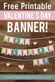 Valentine Home Decor Valentine Home Decor Banner Free Printable