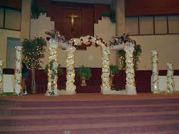 how to decorate columns for a wedding living room interior designs