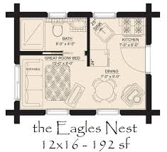 one room cabin floor plans hickory spring log home floor plans