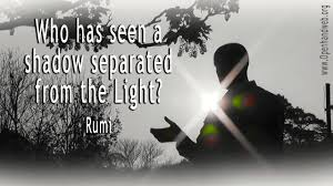 Quotes About Light And Dark Light Darkness Rumi Quote 16 9 Openhand