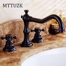Black Bathroom Faucets by Online Get Cheap Black Bathroom Faucet Aliexpress Com Alibaba Group