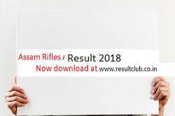 list of assam rifles assam rifles result 2018 rifles tradesmen result cut merit
