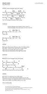 lights down low guitar chords crazy love by van morrison easy guitar lesson