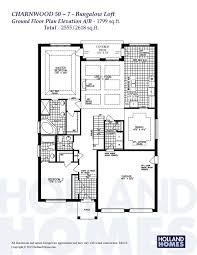 Bungalow With Loft Floor Plans Find Your Dream Home Drafting Services Holland Homes