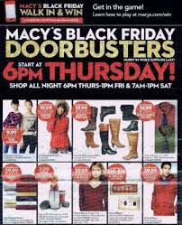 macy s black friday ad macy s black friday sales black