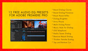 Sound Equalizer For Windows 12 Free Audio Presets For Adobe Premiere Pro Http Vashivisuals