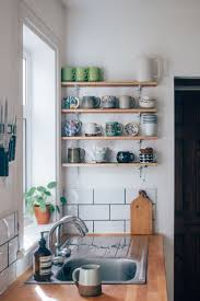 Kitchen Cupboard Interior Storage Kitchen Open Wood Shelves Kitchen Kitchen Cupboard Storage Racks