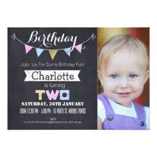 2nd birthday invitations u0026 announcements zazzle co uk