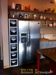 gap between fridge and cabinets modern maple kitchen refrigerator cabinet renovation cultivate com