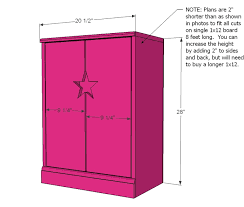 Free Woodworking Plans For Doll Furniture by Ana White Star Doll Closet For American Or 18