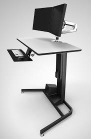 sit stand computer desk top 10 best standing sit stand desks 2018 editors pick