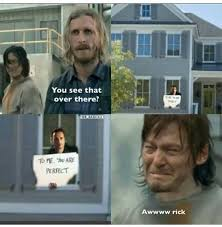 Me You Meme - 227 best the walking dead images on pinterest walking dead stuff