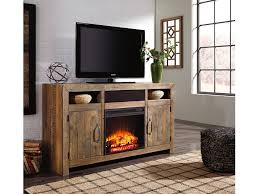sommerford lg tv stand w fireplace option