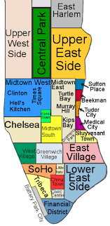 map of nyc areas coruscation ny archives