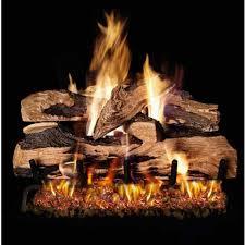 installing gas logs u fireplaces installing gas fireplace log