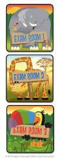 Pediatric Room Decorations Pediatrics Room Signage Idea Door Signs Colorful Exam Room