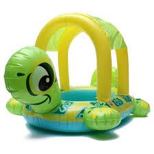 siege enfant gonflable gonflable siège bouée natation tortue forme parasol bateau piscine