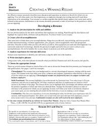Job Winning Resumes by Resume Search Free For Employers Resume For Your Job Application