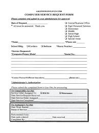 Service Request Template Excel Service Request Form Template Thebridgesummit Co