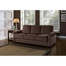 Living Room Contemporary Futon Sofa With Storage Modern Sleeper