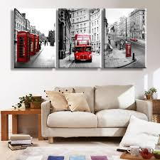 home decor stores london free shipping modern wall painting london landscape home decorative