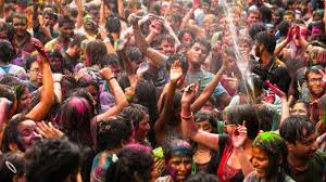 how holi is celebrated in india india