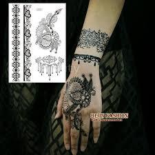 aliexpress com buy 1piece indian arabic white black henna