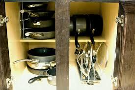 kitchen pan storage ideas delightful cabinet storage ideas small kitchen remodeling on a