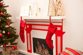 Christmas Decorating Ideas For Small Living Rooms Stunning White Fireplace Christmas Ideas Establish Appealing White