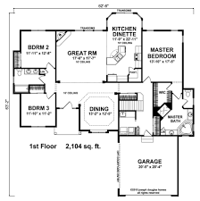 House Plans No Garage 3 Bedrooms Archives Joseph Douglas Homes