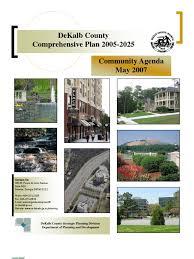dekalb county comprehensive plan 2005 2025 may 2007 race and