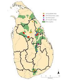 Vanderbilt Campus Map Study Area Adapt U2013 Sri Lanka Vanderbilt University