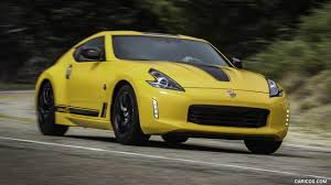 nissan 370z wallpaper 2018 nissan 370z heritage edition color chicane yellow front