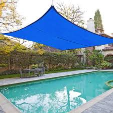 18 u0027 x18 u0027 deluxe square sun shade sail uv top cover outdoor canopy