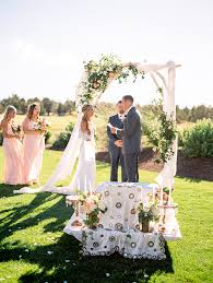 wedding arches images 4 trends in wedding arch design pronghorn resort